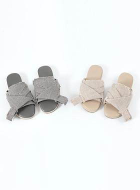 Linen Numeo Slippers