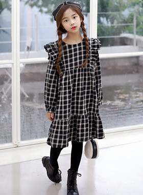"Arbo Check Dress <br> <font color=""#9f9f9f"">* ♡ Check it when it is cold ♡ * <br> * Gritty atmosphere *</font>"