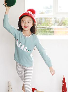 "Snowman dressing gown <br> <font color=""#9f9f9f"">* Comfortable cotton fabric * <br> Pretty Hazel</font>"