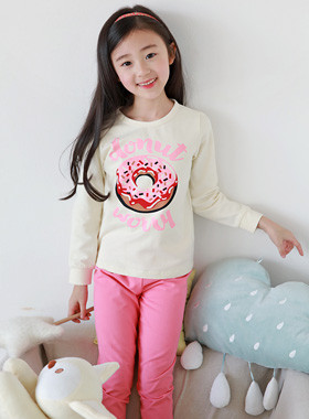 "Donut dressing gown <br> <font color=""#9f9f9f"">♡ Cute donut printing ♡ <br> * Lovely color *</font>"
