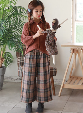 "Botton wool pants SET SET <br> <font color=""#9f9f9f"">♡ Feeling warm emotion ♡ <br> * Up and down SET *</font>"