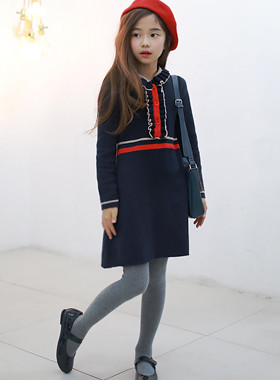 "Gemma Knit Dress <br> <font color=""#9f9f9f"">* A beautifully beautiful child * <br> Comfortable knit material: D</font>"