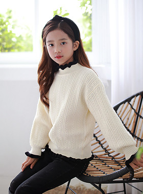 "France knit <br> <font color=""#9f9f9f"">♡ Unique ♡ where you can not see anywhere <br> * More warm with a half-neck *</font>"