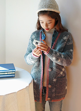 Exceed knit cardigan