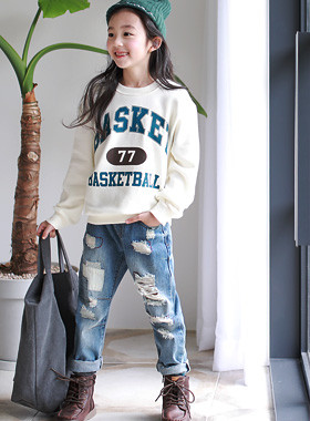 "Basket one-man <br> <font color=""#9f9f9f"">♡ Casual comfort ♡ <br> * Remain, girl's *</font>"