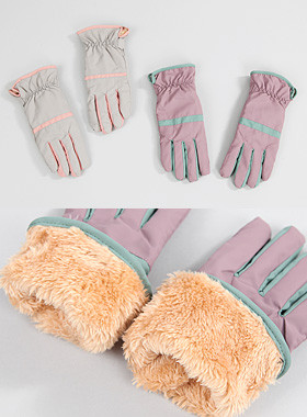 Lin Colored Padding Gloves