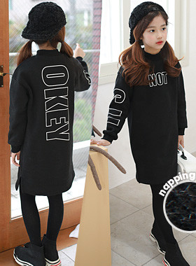 """Itsubanha napping one piece <br> <font color=""""#9f9f9f"""">A warm napping material warmth <br> * Chic Black Color *</font>"""