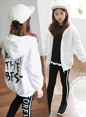 """Bridal hoodie <br> <font color=""""#9f9f9f"""">˙ Match everywhere ˙ <br> Zip-up jacket</font>"""