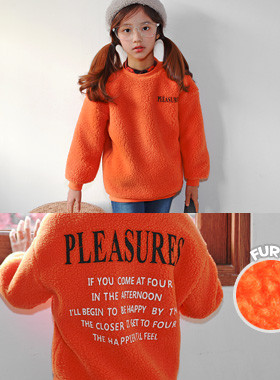 "Sure Fleece One-man <br> <font color=""#9f9f9f"">˙The man-to-man ˙ <br> This season, the popularity is poggy!</font>"