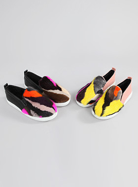 Multi-Mink Slip-On