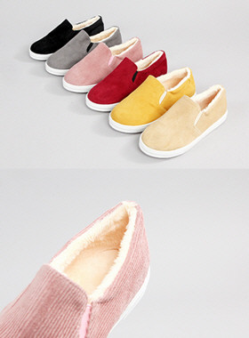 Pomigolden fur slip on