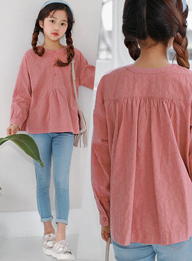Perfume Button Blouse