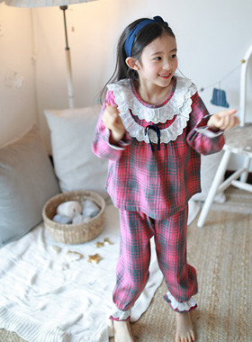 Ribbon race pajamas SET UP