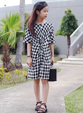 Twiz Check Dress