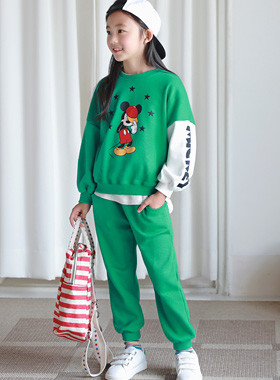 Mickey color top and bottom SET