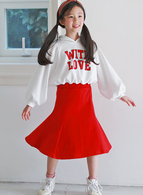 With love food color dress