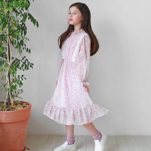 Flower lace flower dress