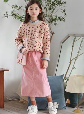 Minyu corduroy skirt